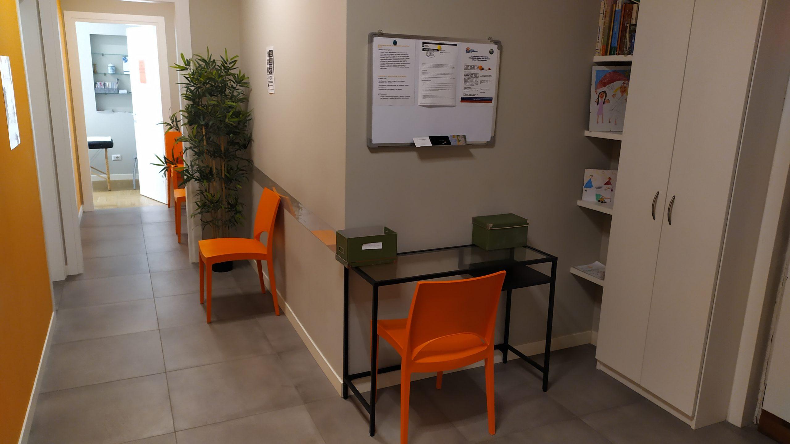 sala d'attesa studio medico olona